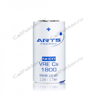 Аккумулятор NiCd ARTS Energy VRE Cs 1800mAh