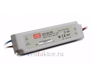 Блок питания MEAN WELL LPC-35-700