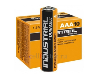 Батарейка алкалиновая DURACELL Industrial LR03 BOX-10