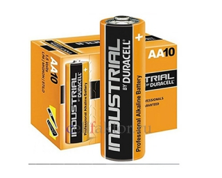 Батарейка алкалиновая DURACELL Industrial LR6 BOX-10