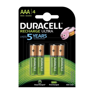 Аккумулятор NiMH DURACELL TURBO HR03 BL-4