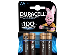 Батарейка алкалиновая DURACELL Ultra Power LR6 BL-4