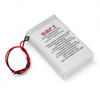 Аккумулятор Li-Ion SAFT MP 174565 Integration 4800mAh