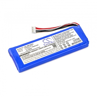 Аккумулятор CS-JMP300SL для JBL Pulse 3 3.7V 6000mAh