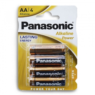 Батарейка алкалиновая PANASONIC Alkaline Power LR6 BL-4