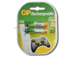 Аккумулятор GP AAA/HR03 85AAAHC-2CR2 850mAh BL-2