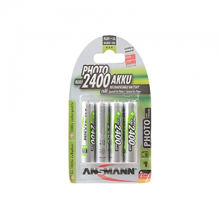 Аккумулятор NiMH AA 2400mAh Photo Blister-4